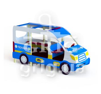 Полицейский автобус