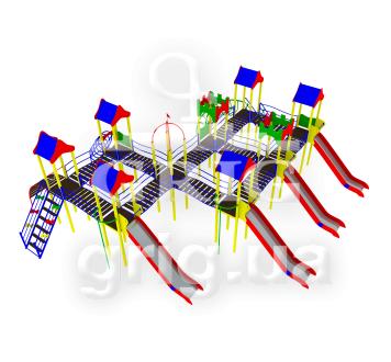 """Игровой комплекс """"Каскад"""""""