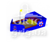 "Sandbox ""Rescue boat"""
