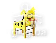 """Спортивный элемент """"Жираф с баскетбольным кольцом"""""""