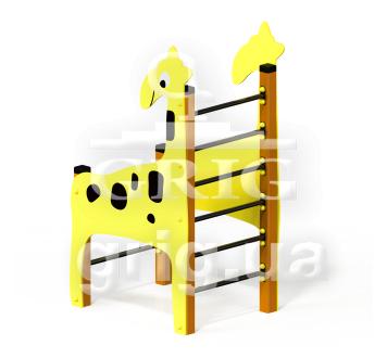 """Спортивный элемент """"Жираф рукоход"""""""