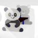 """Лавочка """"Панда"""""""
