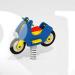 """Качалка на пружине """"Мотоцикл тип 2"""""""