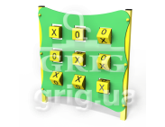 Tic-tac-toe game panel