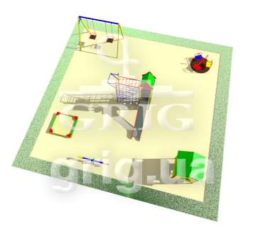 Типовая детская площадка 4.5