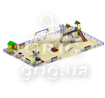 Типовая детская площадка 7.1