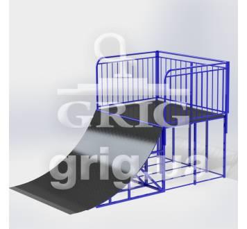Рампа для прыжков