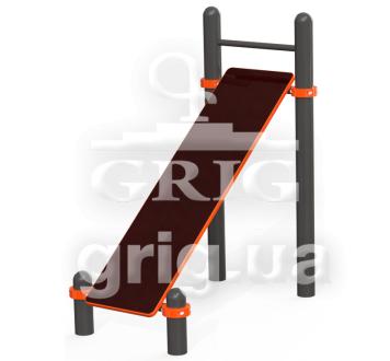 Лавка для пресса Workout
