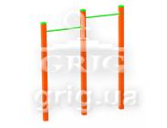 WORKOUT Double horizontal bar