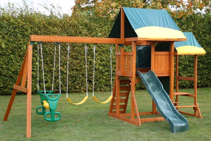 Эффективный ремонт детской площадки своими силами