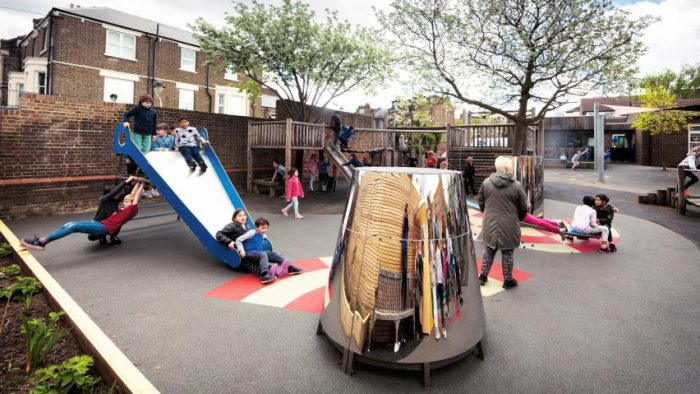 unusual playground in london