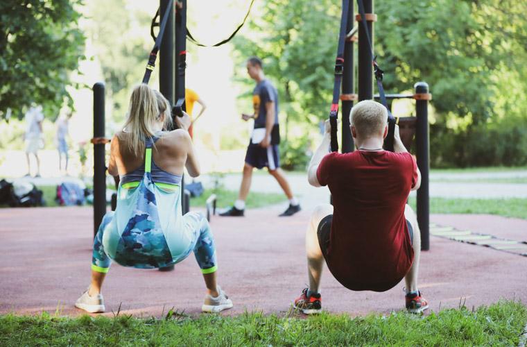 Функциональная тренировка на улице