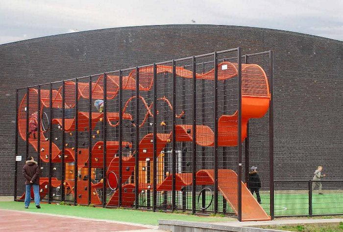 smallest playground