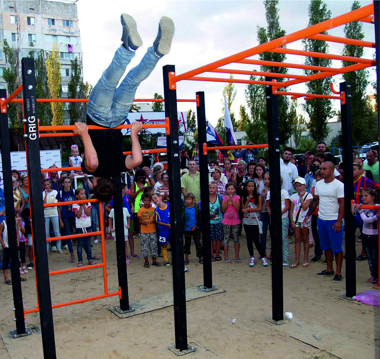 children equipment for street-workout