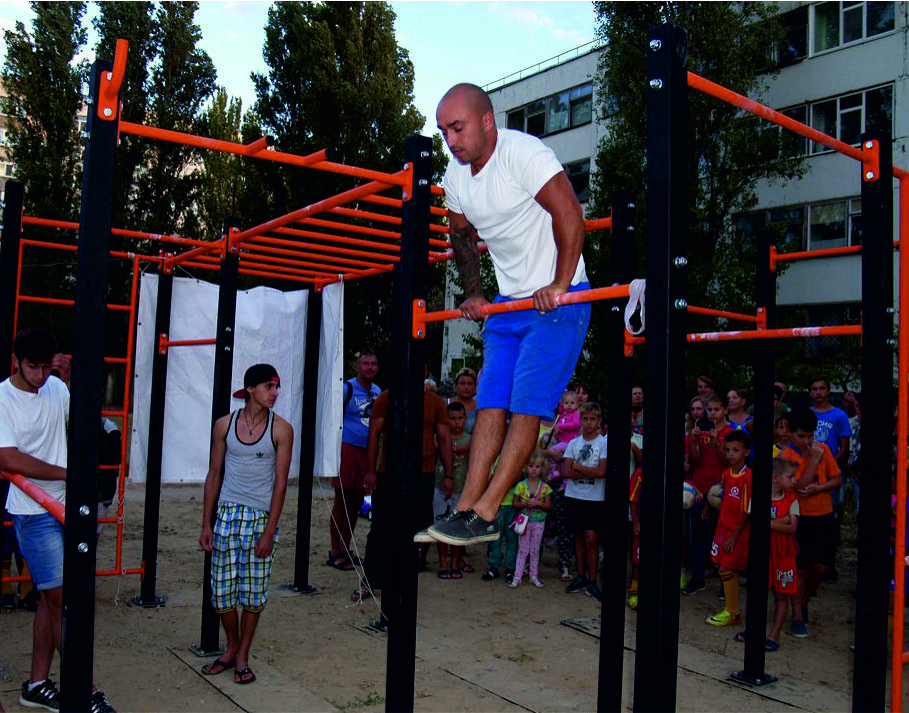 Equipment for street-workout